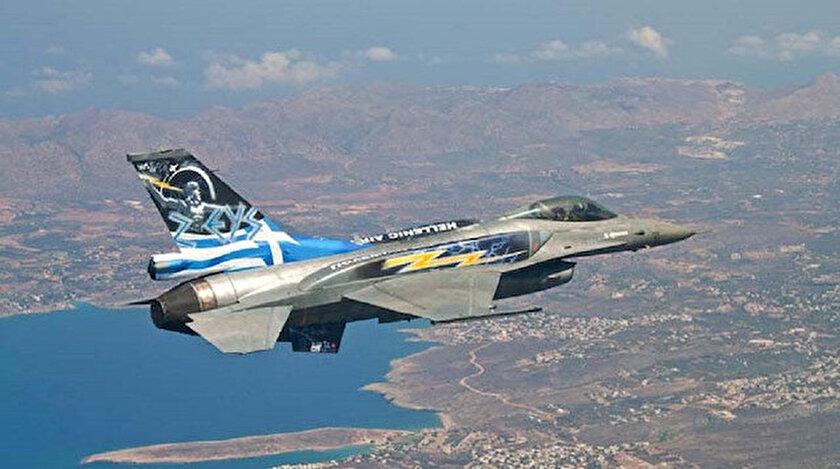 Yunanistan'a ait F-16 savaş uçaklarının Başbakan Kiriakos Miçotakis'in talimatıyla uçmasının engellendiği iddia edildi.