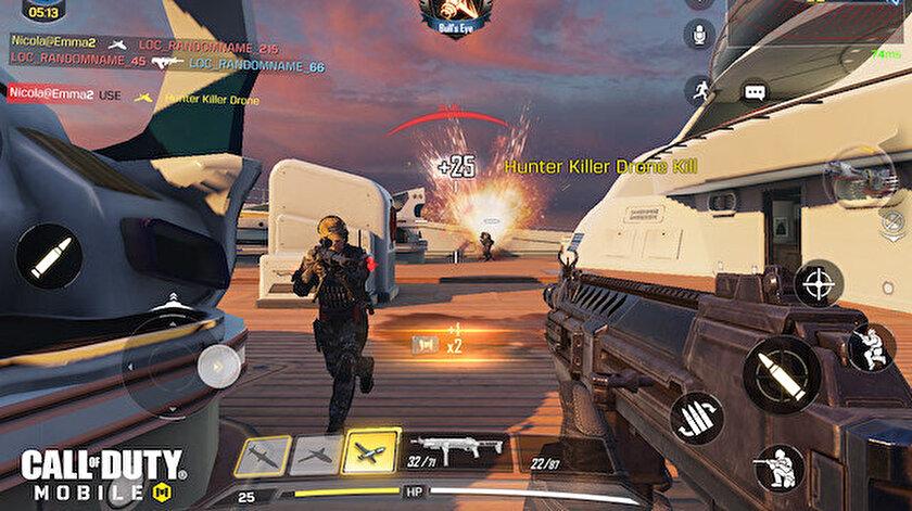 Tencent Games'in ödüllü TiMi Studios tarafından geliştirilen ve Activision tarafından yayınlanan Call of Duty: Mobile oyunu, mobilde ücretsiz ve tek kişilik oynanış aksiyon deneyimi sunuyor.