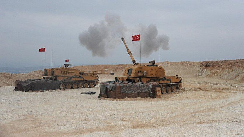 Terör örgütü hedefleri, TSK tarafından vuruldu.