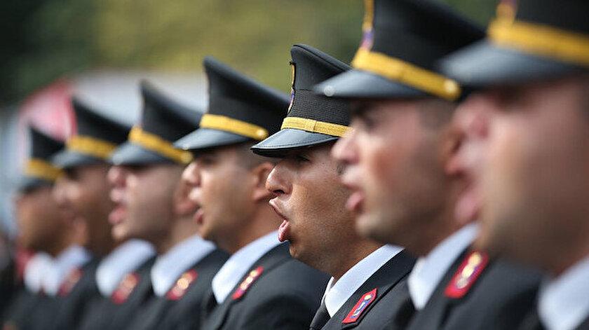 Yemin törenindeki askerler. Fotoğraf: Arşiv.