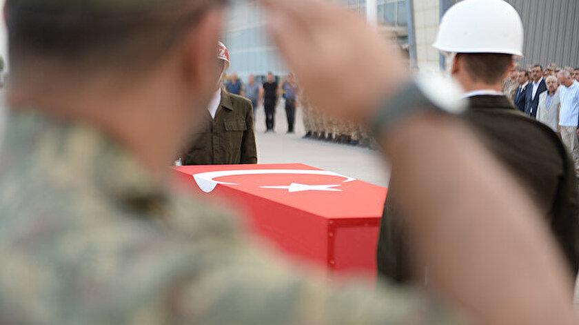 Sözleşmeli er Ahmet Topçu'nun cenaze töreni yapıldı.