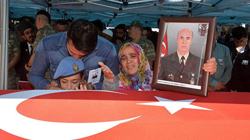 Barış Pınarı Harekatı şehidi Hacı Bebek için cenaze namazı kılındı.