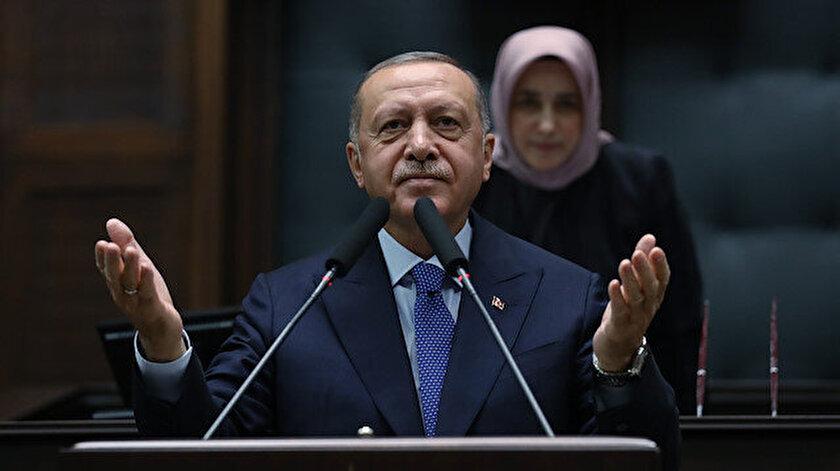 Cumhurbaşkanı Recep Tayyip Erdoğan partisinin TBMM Grup Toplantısı'nda konuştu.