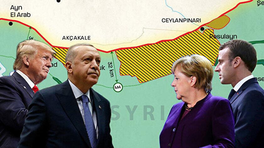 """Türkiye, ABD'ye """"güvenli bölge""""yi kabul ettirdi."""