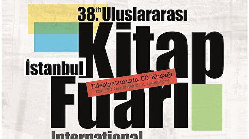 38. Uluslararası İstanbul Kitap Fuarı afişi