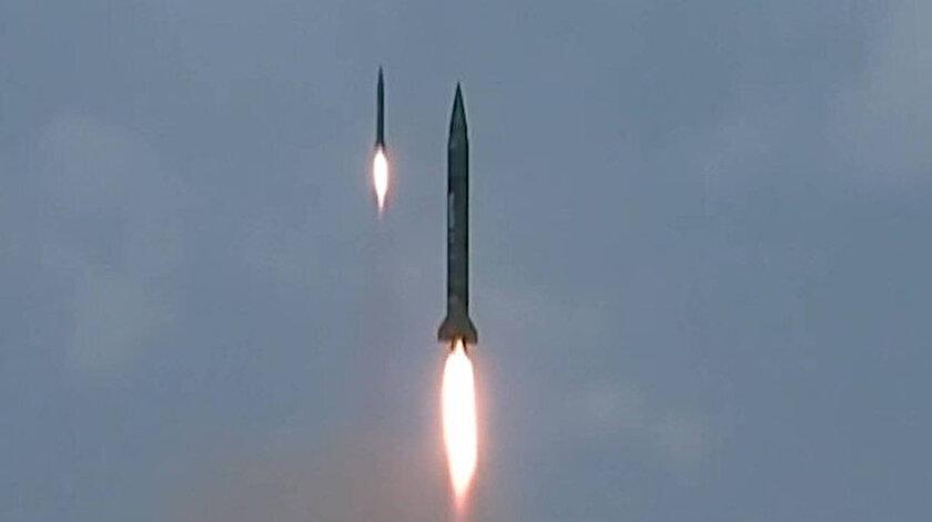 Kuzey Kore'den yeni füze denemesi yapıldı.
