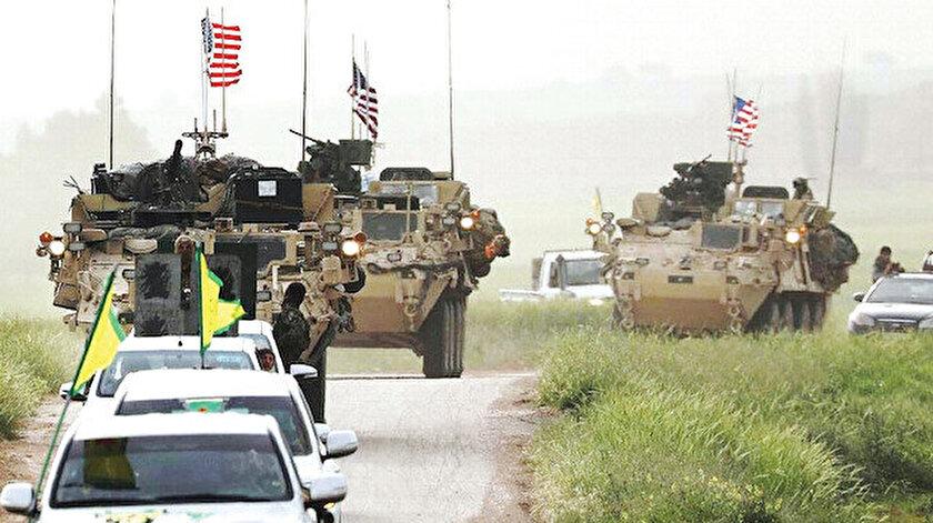 """ABD, Suriye'de terör örgütü """"DEAŞ ile mücadele"""" bahanesi adı altında terör örgütü YPG/PKK için bütün imkanlarını seferber ederek askeri yardımda bulunuyor."""