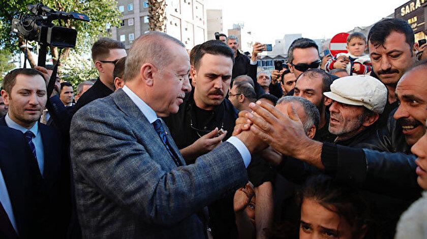 Cumhurbaşkanı Erdoğan Şanlıurfa'da halkla buluştu