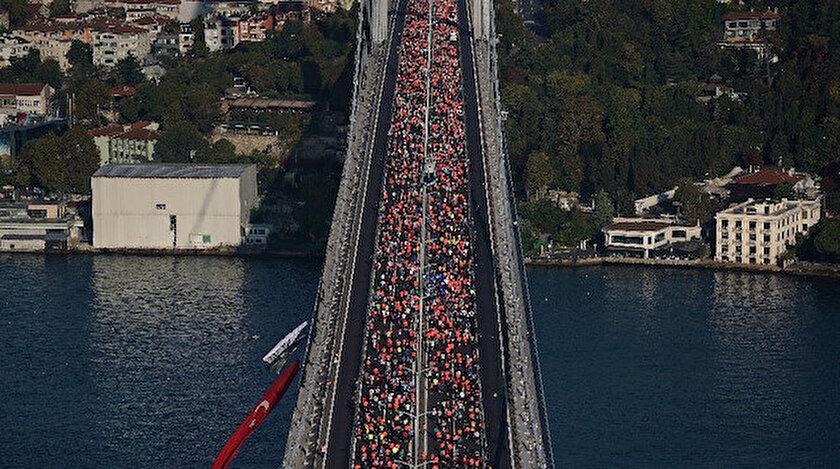 İstanbul Maratonunda rekor geldi