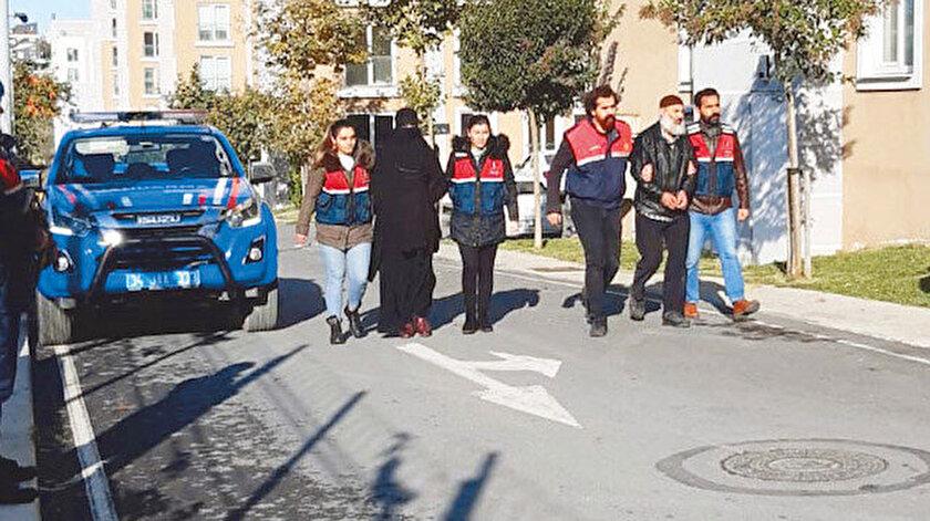 Örgütün eğitim kampları sorumlusunun da aralarında olduğu 7 kişi gözaltına alındı.