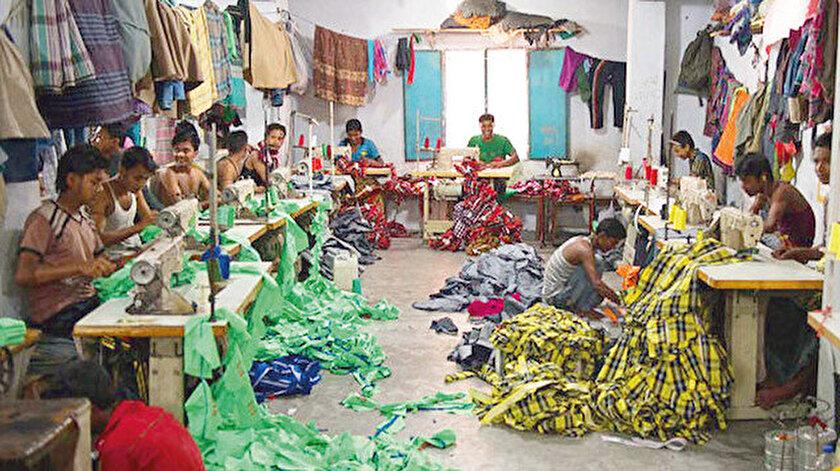 164 milyon nüfuslu Bangladeş'te 10-14 yaş arası 1 milyon çocuk işçi bulunduğu belirtilse de bu rakamın gerçekte çok daha fazla olduğu vurgulanıyor.
