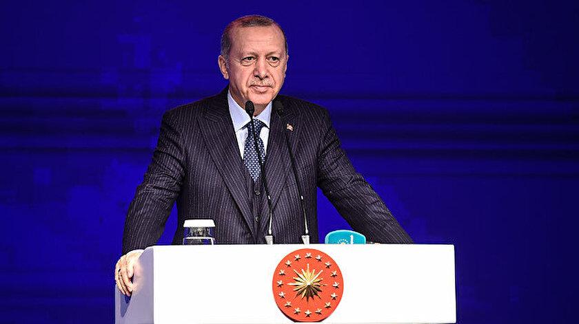 Cumhurbaşkanı Recep Tayyip Erdoğan açıklama yaptı.