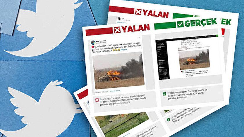 Türkiye'nin Suriye'nin kuzeyinde başlattığı Barış Pınarı Harekatı sırasında yalan haberler hızlanmıştı.