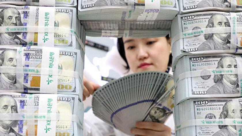 Çin'in döviz rezervi 3 trilyon 105 milyar dolara ulaştı.