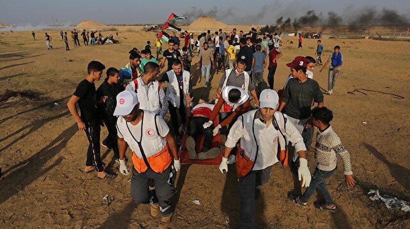 İşgalci İsrail'in Gazze şeridindeki saldırıları devam ediyor.