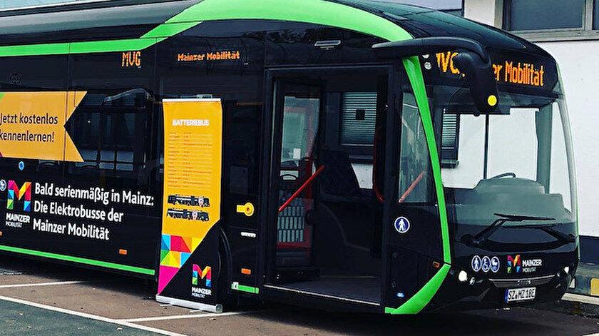 Yerli elektrikli otobüs Sileo, Almanya'ya ihraç ediliyor.