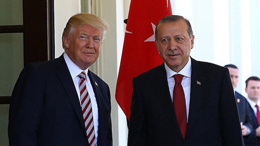 Donald Trump ve Recep Tayyip Erdoğan