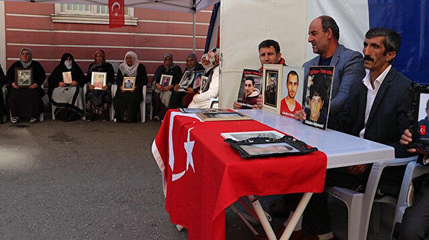 HDP önündeki ailelerin evlat nöbeti 74'üncü günde.
