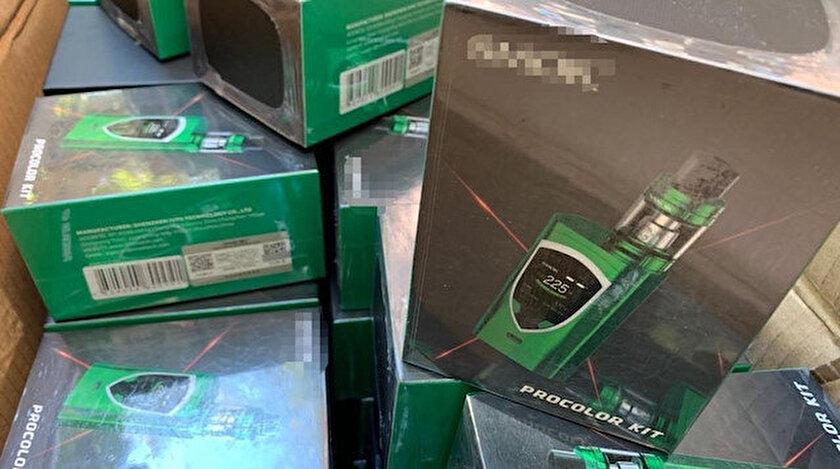 Elektronik sigara kaçakçılığının önlenmesi için çalışmalar sürüyor.