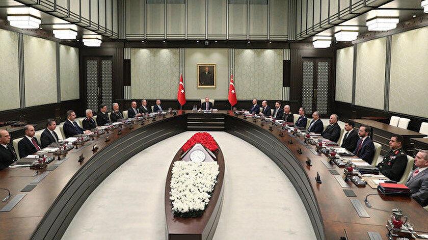 Milli Güvenlik Kurulu toplantısı sona erdi: Barış Pınarı, ABD ve Rusya ile mutabakatlar ve 1915 olayları