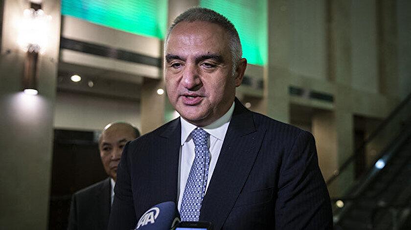 Kültür ve Turizm Bakanı Mehmet Nuri Ersoy açıklama yaptı.