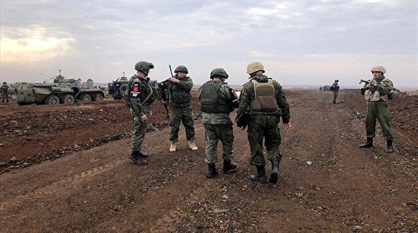 Fırat'ın doğusunda 12'nci kara devriyesi tamamlandı.
