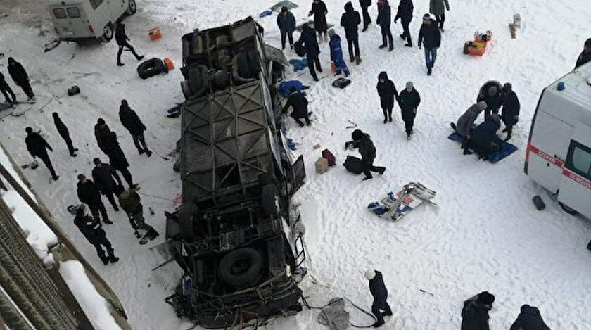 Rusya'daki feci kazada ölü sayısının artmasından endişe ediliyor.
