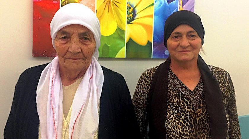 Anne Naciye Teke ve kızı Ernur Gölhisarlı