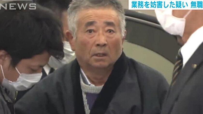 71 yaşındaki Akitoshi Okamoto.