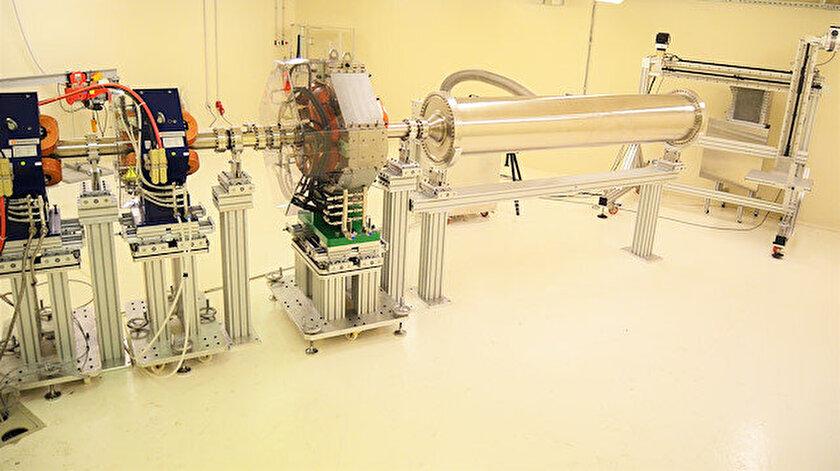 Türkiye'nin uydu ve uzay çalışmalarında dışa bağımlılığı azaltacak ilk Parçacık Radyasyonu Test Altyapısı göreve başlıyor.