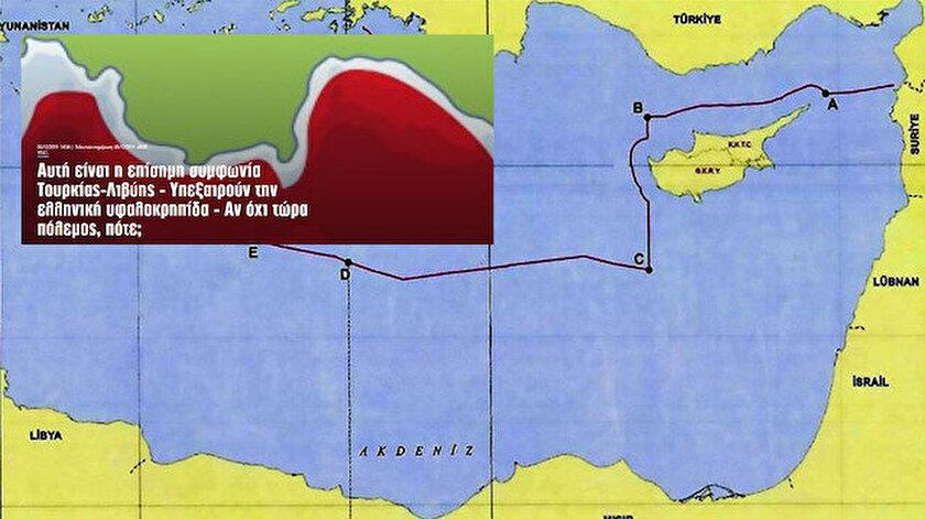 Yunan basınının gözünden Türkiye-Libya arasındaki Akdeniz MEB anlaşması.