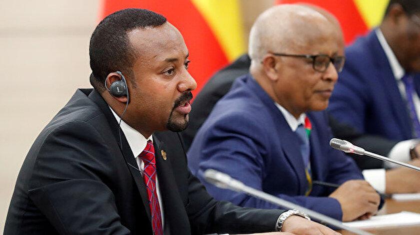 Etiyopya Başbakanı Abiy Ahmed.