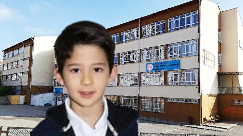 Okulda fenalaşan Mert Yağız Köksal yaşamını yitirdi.