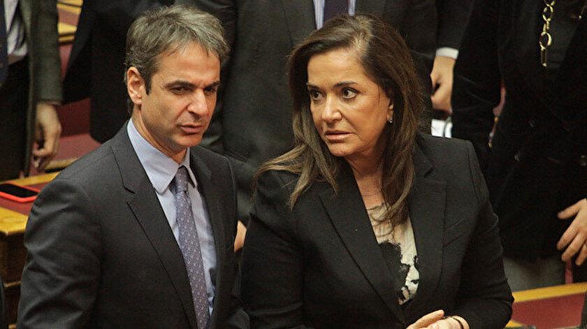 Yunanistan Başbakanı Miçotakis ve ablası Dışişleri eski Bakanı Bokayannis