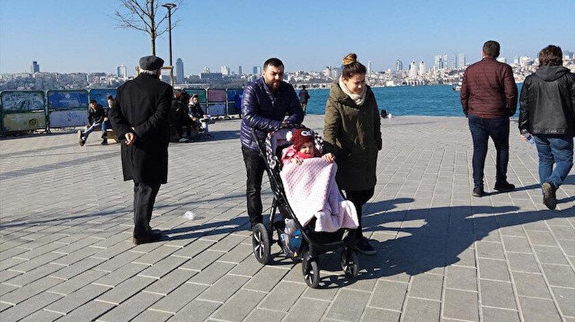 Marmara Bölgesi'nde sıcaklıklar mevsim normallerinin üzerine çıkacak.