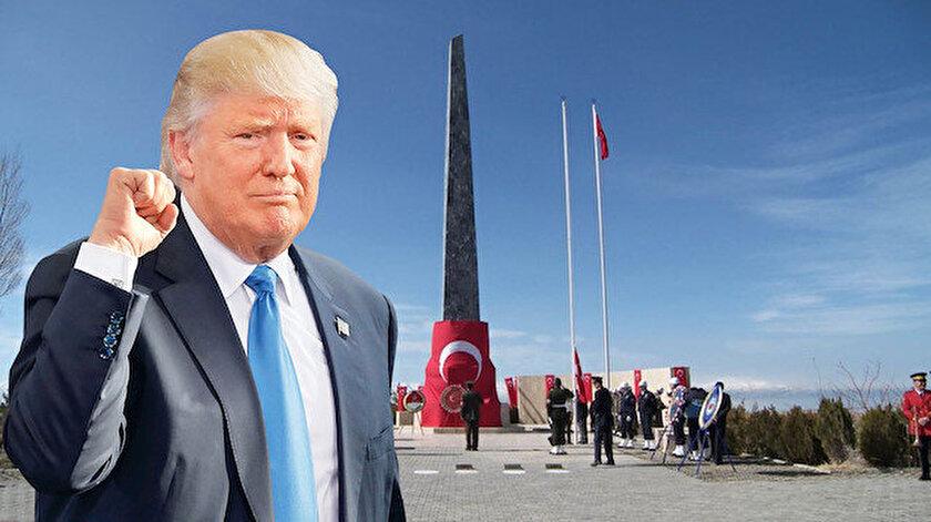 ABD Başkanı Trump - Zeve Şehitliği