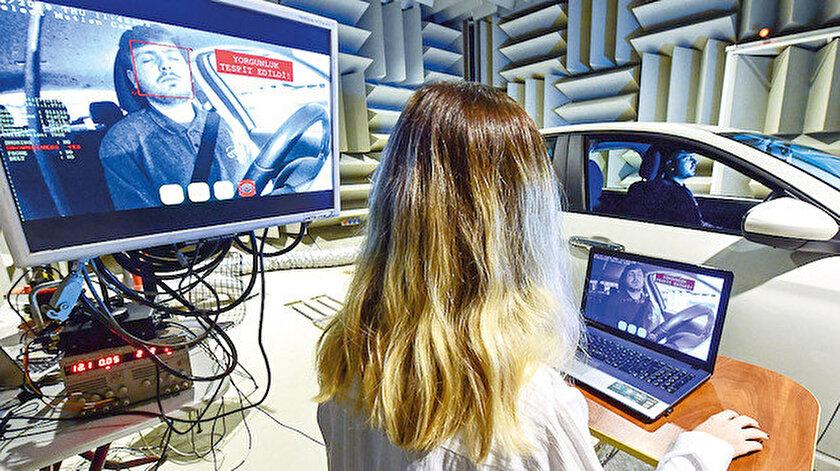 ARI Teknokent'te geliştirilen projeyle, aracında uyuyan veya sigara içen sürücü yapay zekayla tespit edilecek.