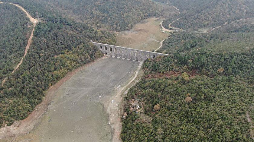 İstanbul'da son yağışlar barajları yüzde 4 doldurdu.