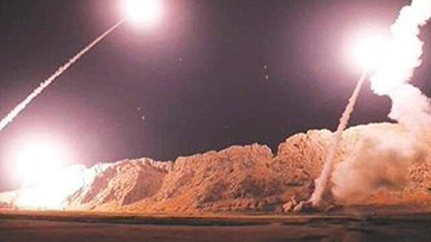 ABD üssünü vuran füzelere ait olduğu iddia edilen görsel