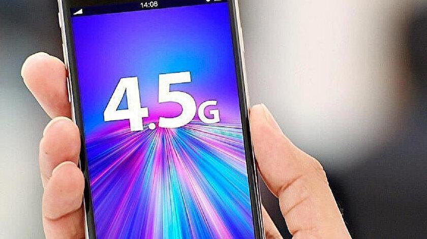 4,5G'lilerin sayısı 76 milyona yükseldi.