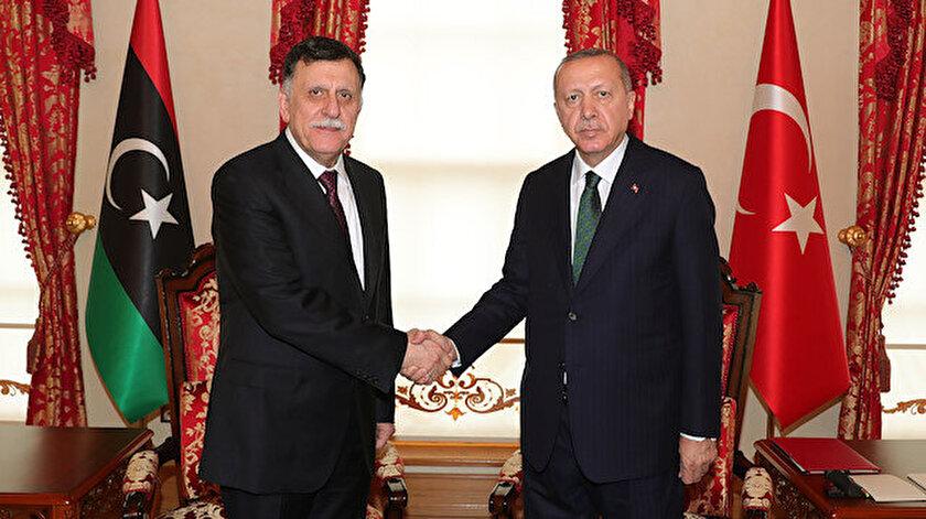 Fayez El Serrac - Cumhurbaşkanı Erdoğan