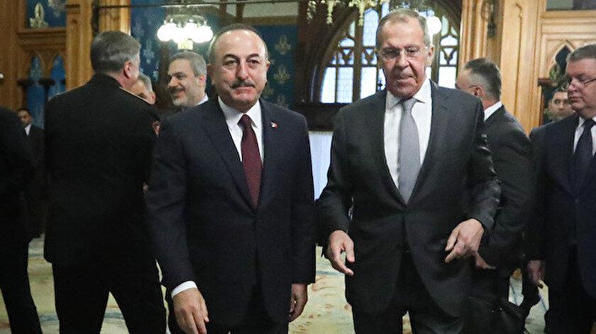 Türk ve Rus heyetlerin, Libya'da kalıcı ateşkes için Moskova'da görüştü.