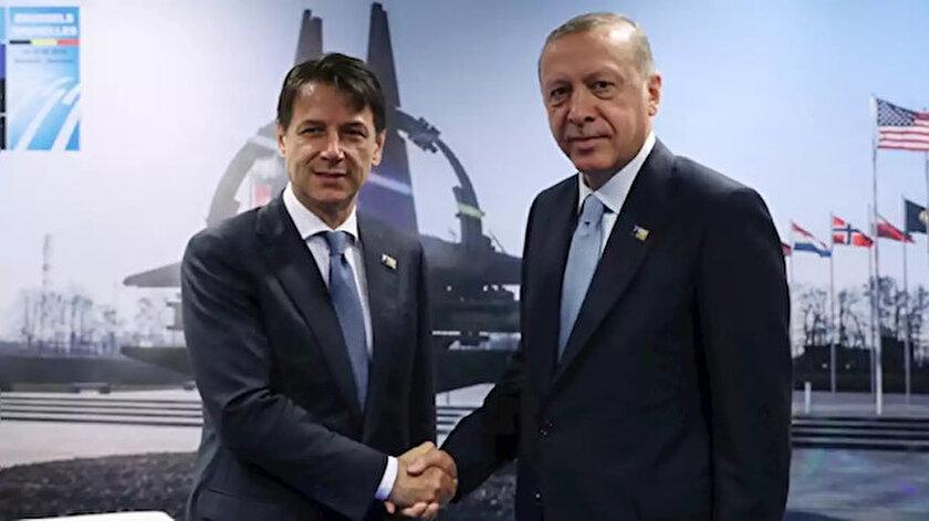 Cumhurbaşkanı Erdoğan, Cumhurbaşkanlığı Külliyesi'nde İtalya Başbakanı Conte'yi kabul edecek.