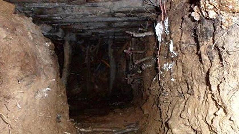 Teröristler, tünelleri Türkiye'nin olası askeri harekatlarına karşı direnme, sızma ve ani saldırı amacıyla kazmıştı.