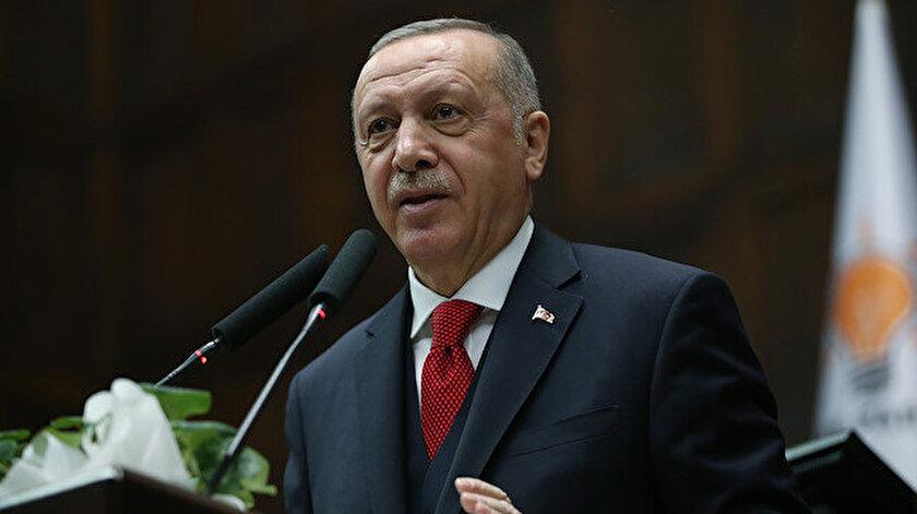 Cumhurbaşkanı Erdoğan grup toplantısında konuştu.