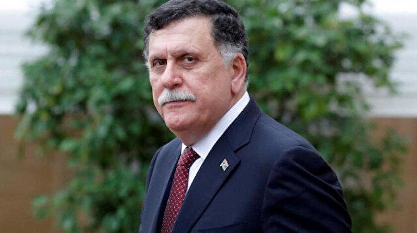 Libya Ulusal Mutabakat Hükümeti (UMH) Başbakanı Fayiz Es-Sarrac