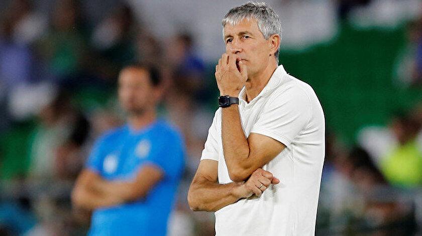 Quique Setien son olarak  Real Betis'i çalıştırmıştı.
