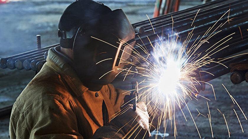 Sanayi üretimi arttı.