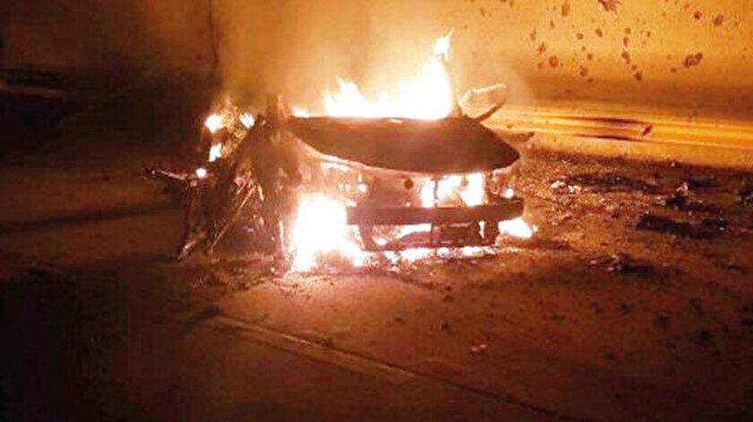 Kasım Süleymani'nin öldürüldüğü araç