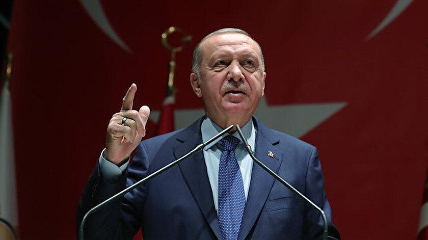 """Cumhurbaşkanı Erdoğan """"Kardeş Belediyeler İstişare ve Değerlendirme Toplantısı""""nda konuştu."""